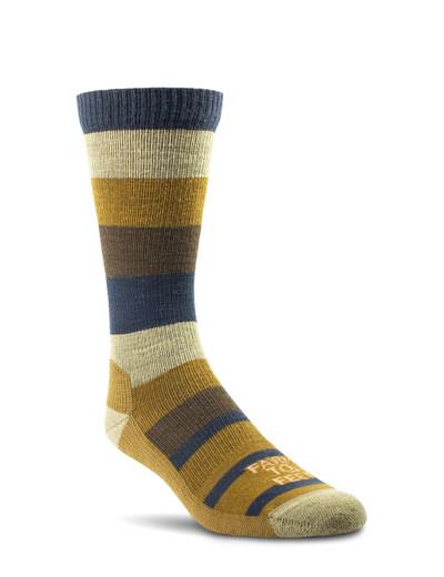 Farm To Feet Rutherford Lightweight Crew Sock - Breen