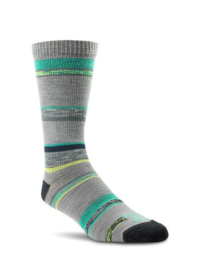 Farm To Feet King Ultralight Crew Sock - Platinum