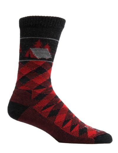 Farm To Feet Franklin Lightweight Crew Sock - Charcoal