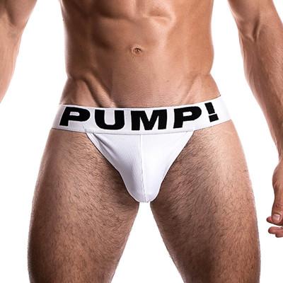PUMP! White Jockstrap
