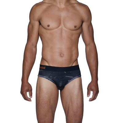Wood Forest Camo Brief