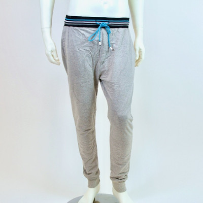 Bottoms Out Blue Geo Joggers