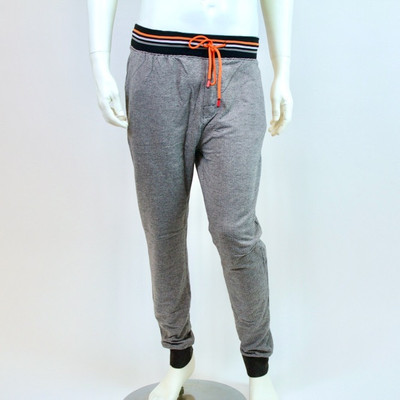 Bottoms Out Orange Geo Joggers