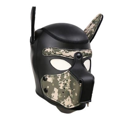 Neoprene Pup Hood - Camo