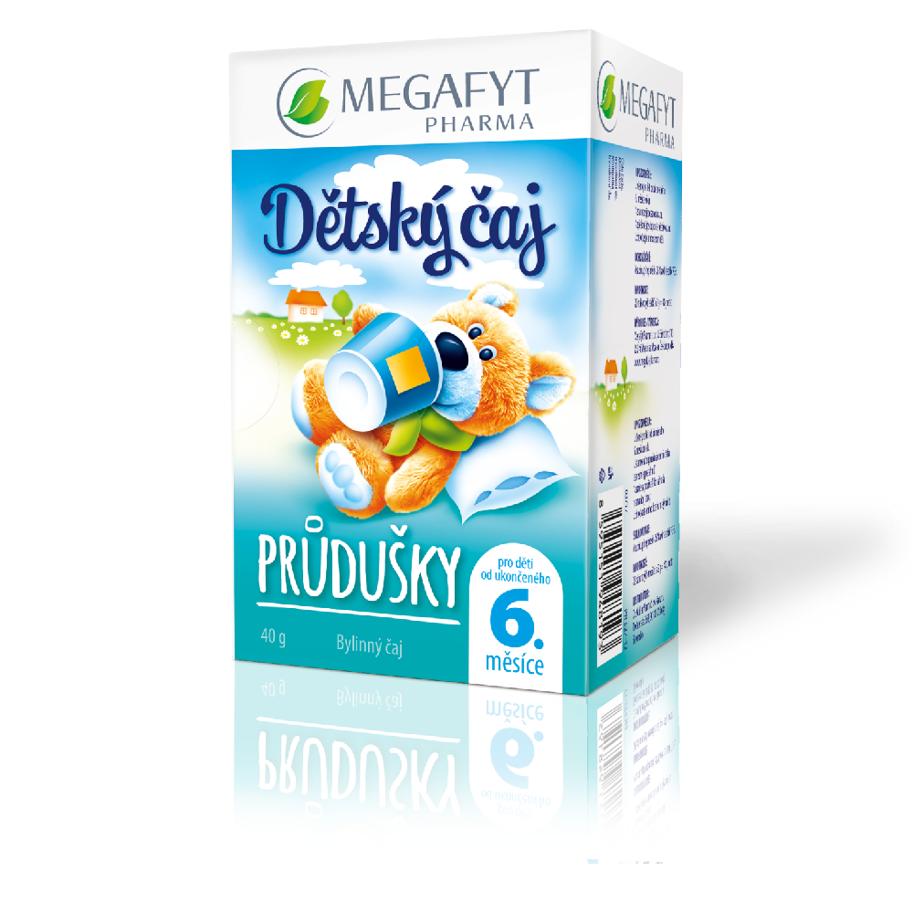 Megafyt Pharma Baby Bronchial Tea 20x1.5, 30g