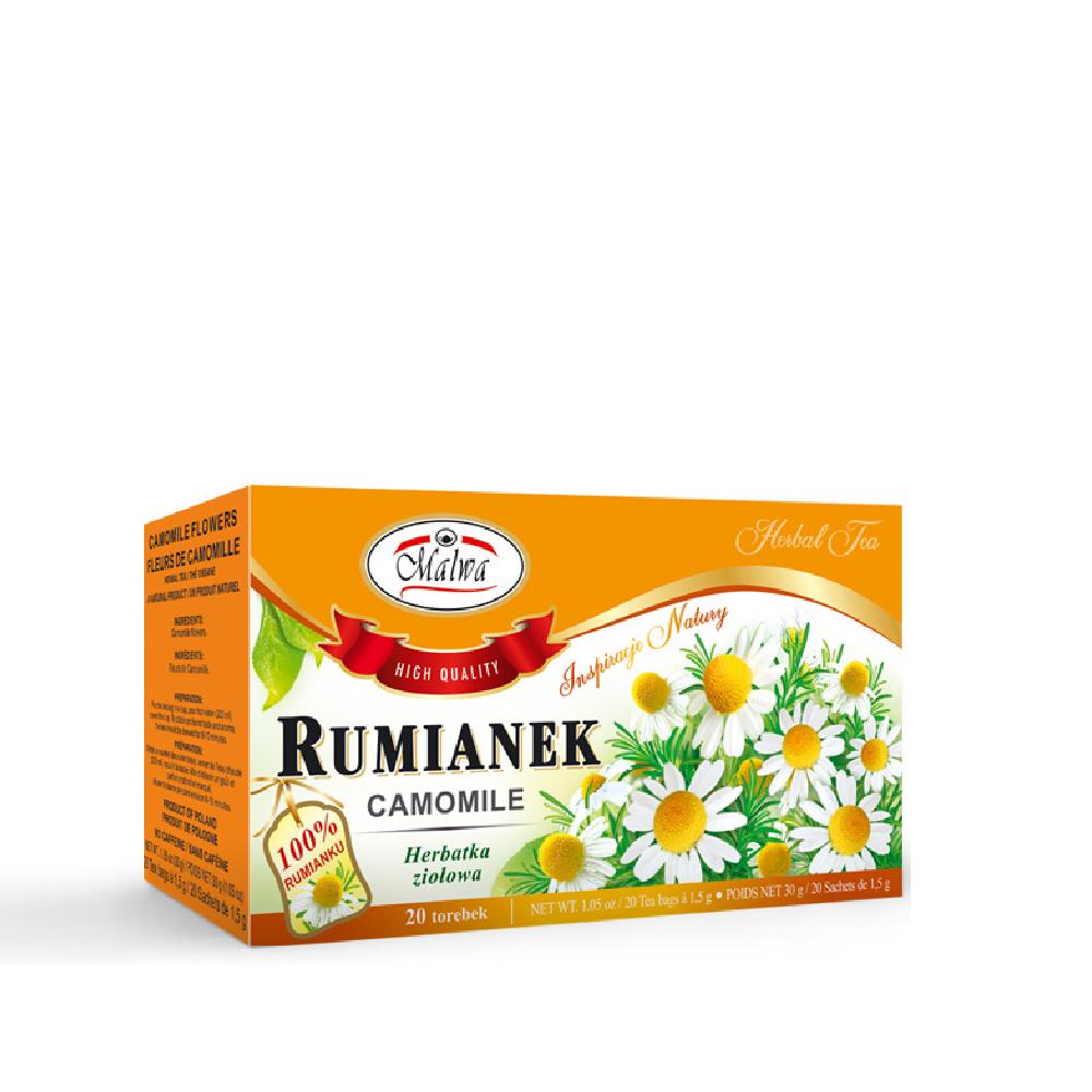 Malwa Chamomile Tea. 20x1.5g, 30g