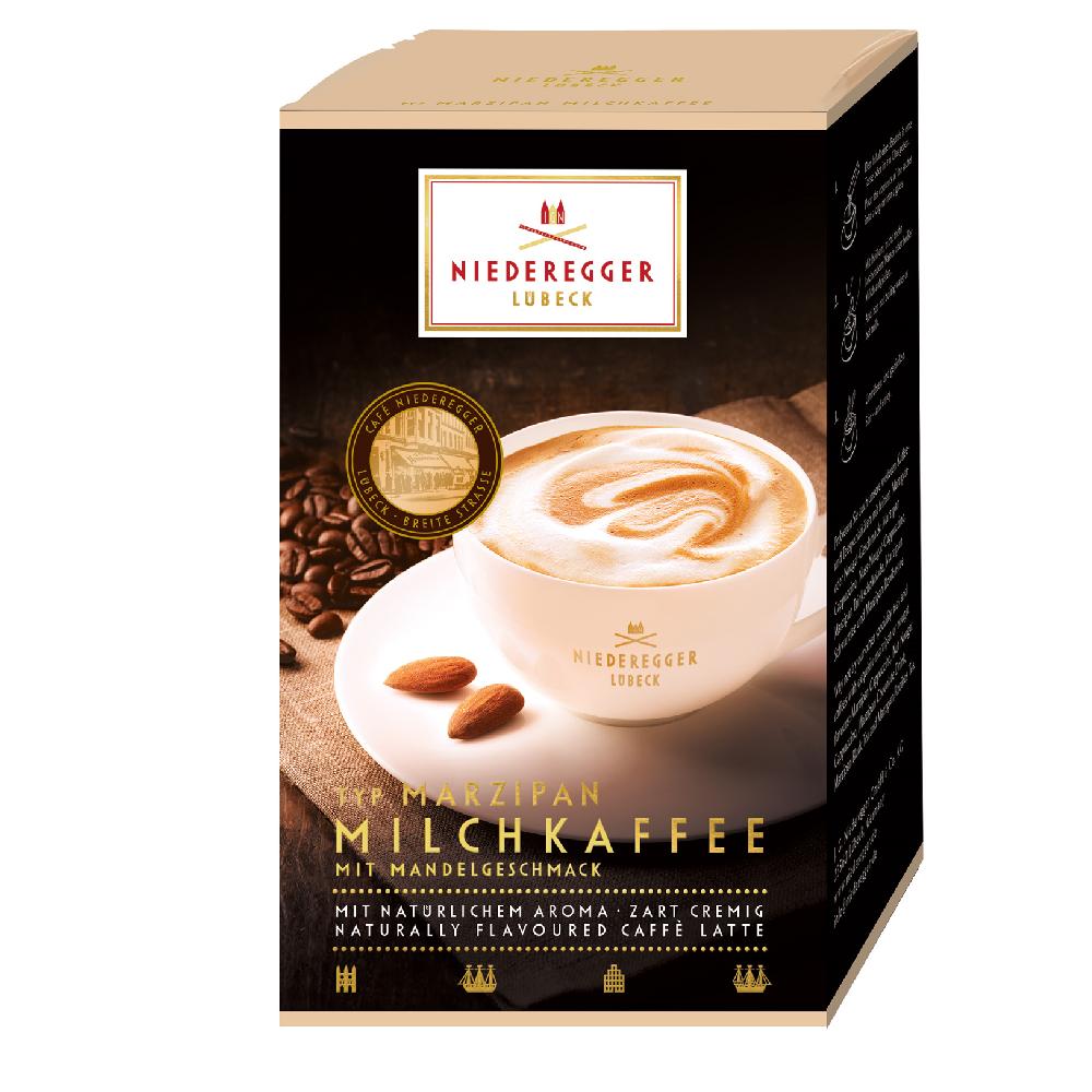 Niederegger Marzipan Milk Coffee Sachets 10 x 22g