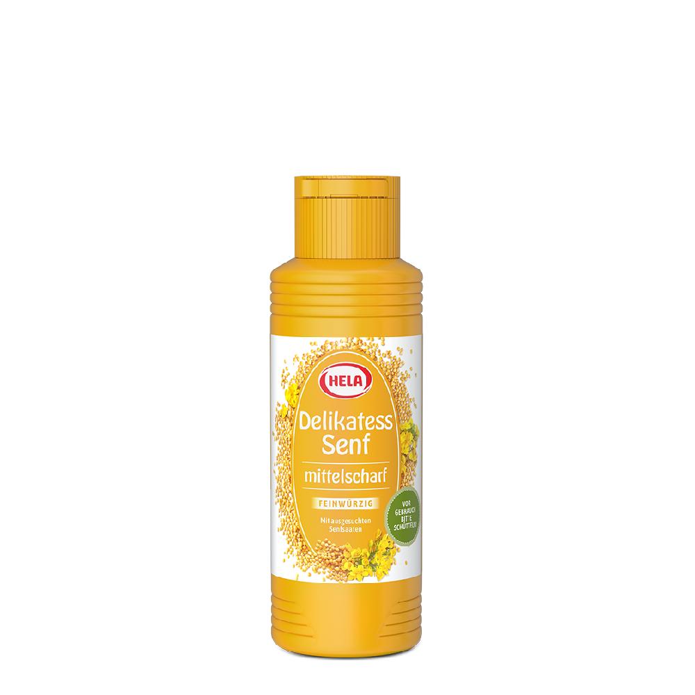Hela Mustard Medium Hot Sauce 300ml
