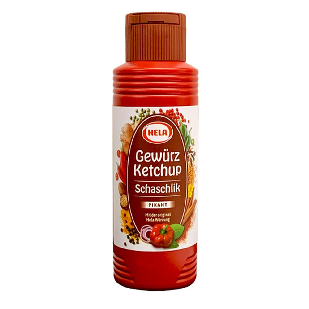 Hela Schaschlik Spicy Paprika Ketchup 300ml