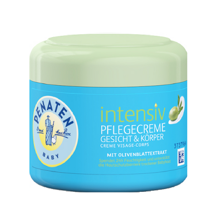 Penaten Baby Face & Body Cream. Olive leaf extract 100ml