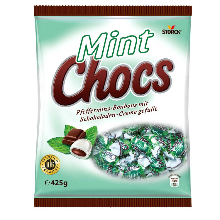 Storck Mint Chocs. Peppermint Sweets 425g