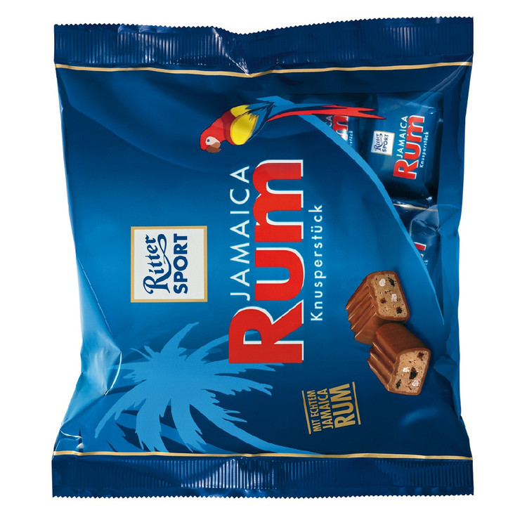 Ritter Sport Jamaica Rum Chocolate Cubes 200g