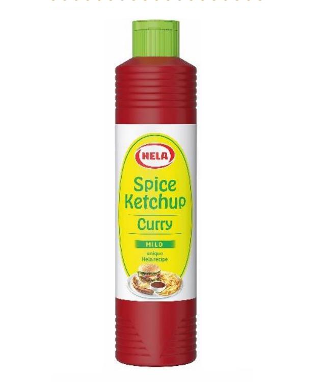 Hela Delicate Mild Spice Ketchup 800ml