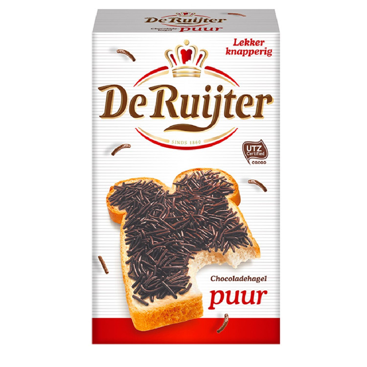 De Ruijter Dark Chocolate Sprinkles 390g