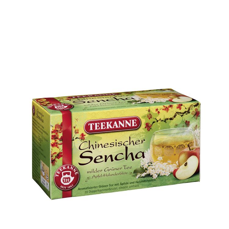 Teekanne Sencha Geen Apple & Elderflower Tea. 20 Tea Bags