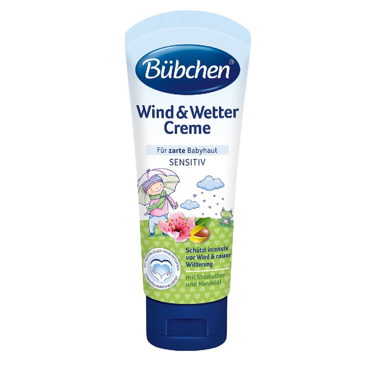 Bubchen Baby Cream. Protection in harsh weather. 75ml