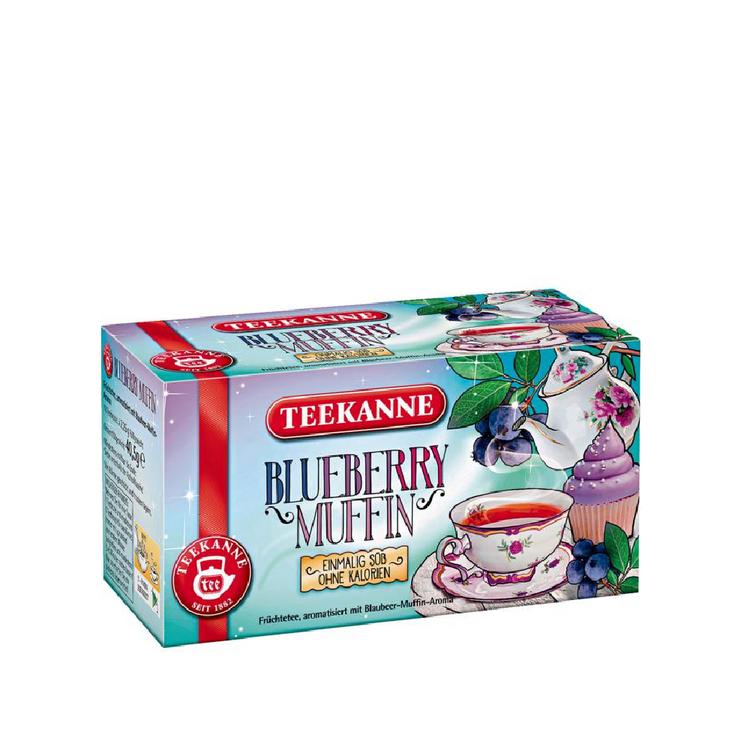 Teekanne Blueberry Muffin Fruit Tea. 18 Tea Bags