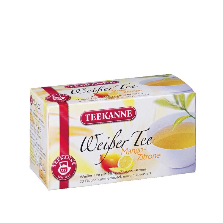 Teekanne Mango Lemon Tea. 20 Tea Bags
