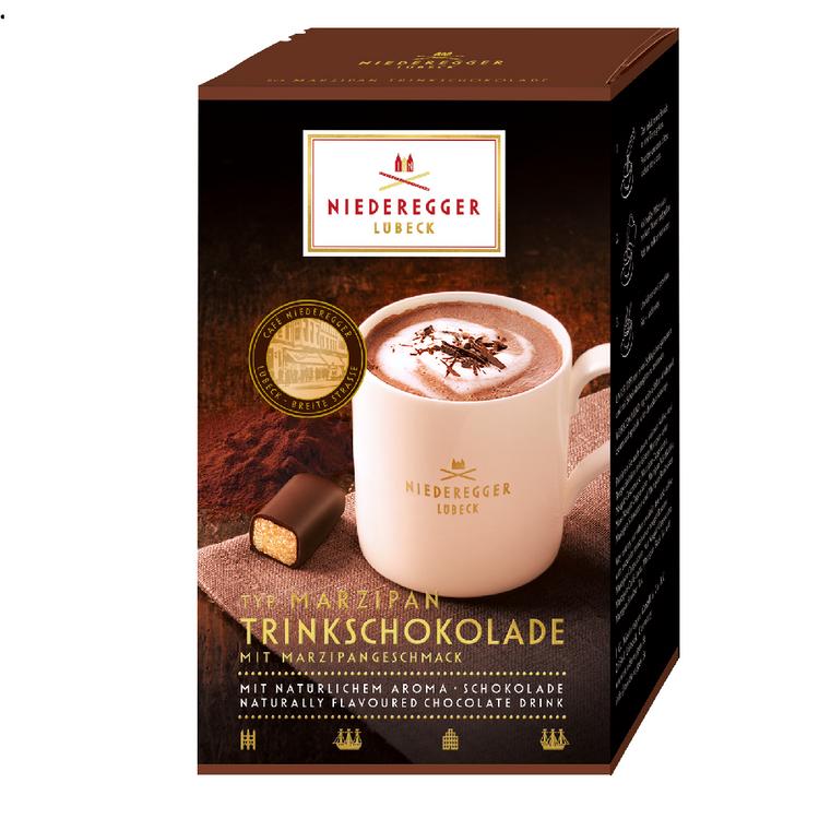 Niederegger Marzipan Hot Chocolate 10 x 25g