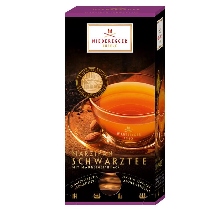Niederegger Marzipan Black Tea 25x1.75g