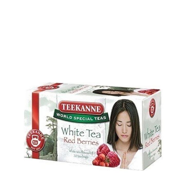 Teekanne White Tea Red Berries. 20 x 1.25g