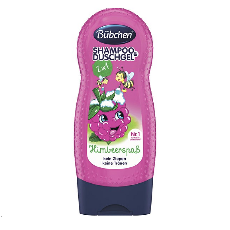 Bubchen Baby Raspberry Shampoo and Shower Gel 2 in 1 230ml