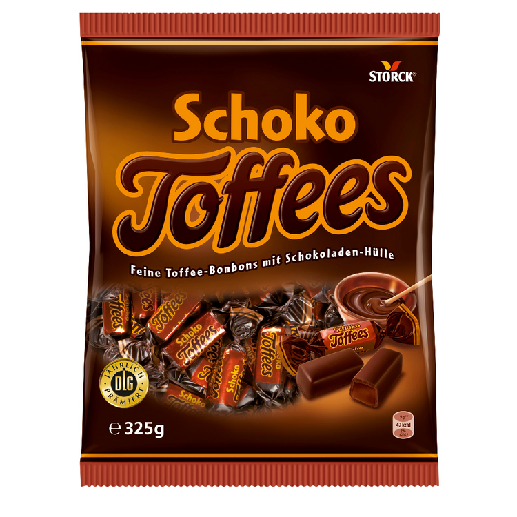 Storck Schoko Toffees Candy 325g