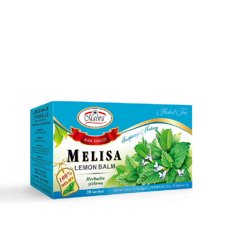 Malwa Lemon Balm Melissa Tea. 20x2g, 40g
