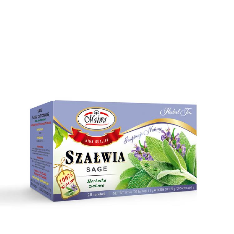 Malwa Sage Tea. 20x1g, 20g