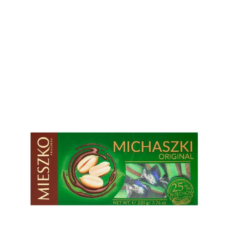 Mieszko Michaszki. Chocolate Sweets With Peanuts 220g