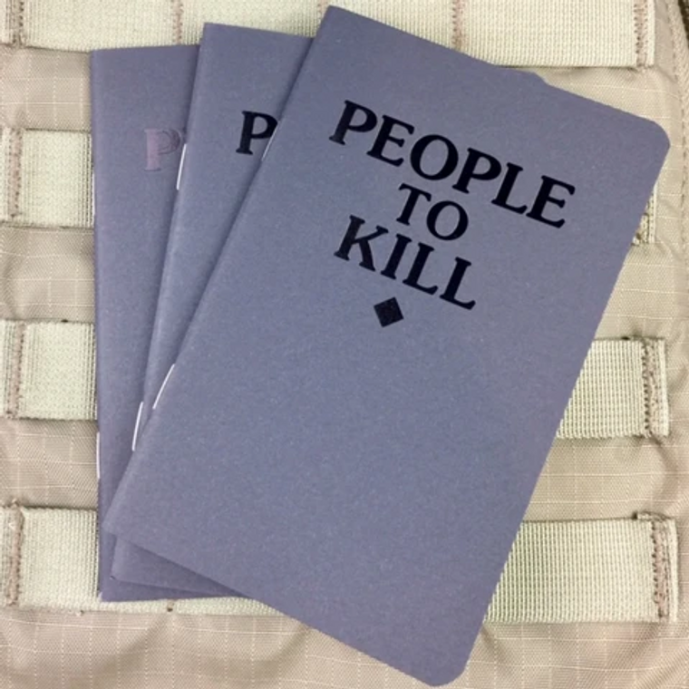 Violent Little Machine Shop People To Kill  Memo Book (3-Pack)