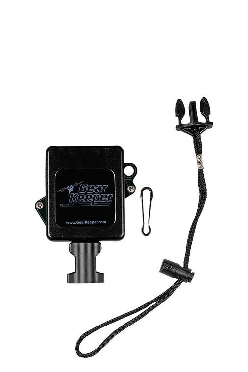 Gear Keeper Retractable Sidearm Tether 24-oz Force - Velcro Strap Mount