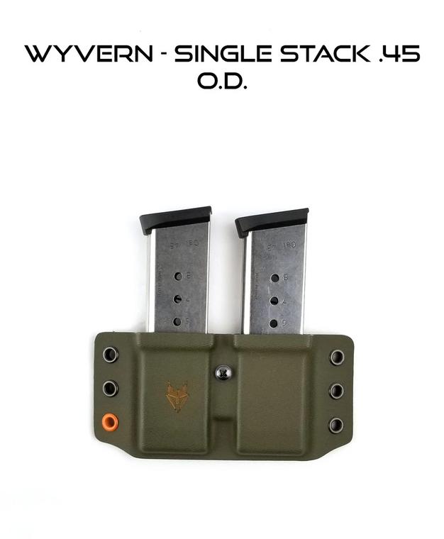 Gray Fox Strategic Wyvern Double Magazine Carrier
