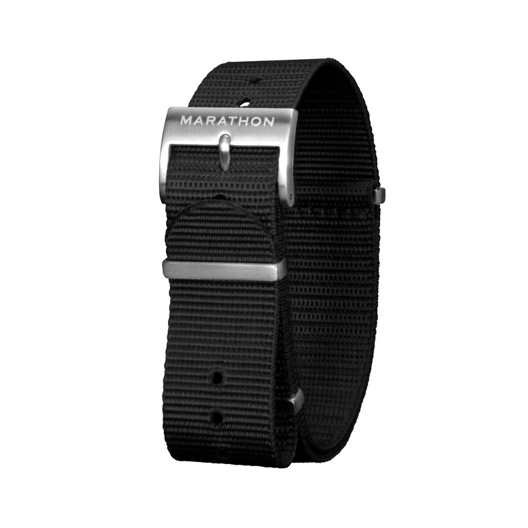 Marathon Nylon NATO Watch Strap - Stainless Steel Hardware
