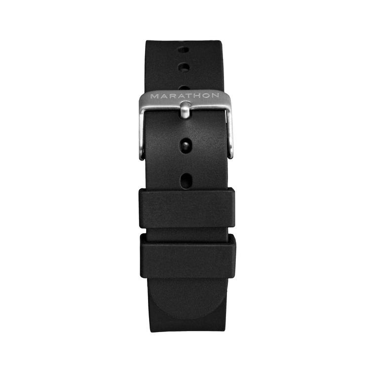 Marathon Rubber Watch Band One Piece Construction - 20MM