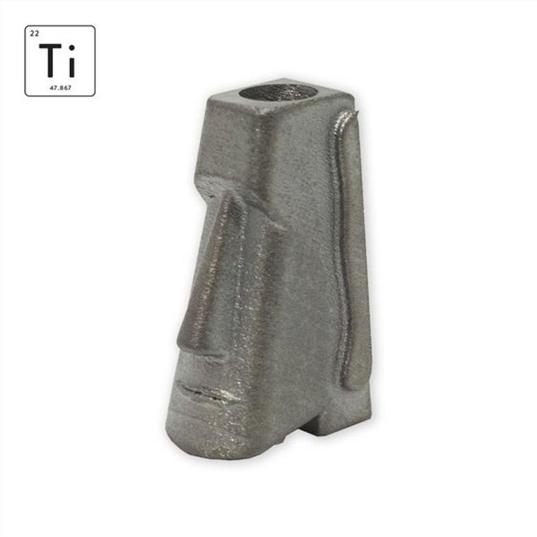 Prometheus Design Werx Moai Titanium Tool Bead
