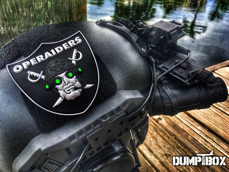 Dump Box Operaiders Night Vision NVG Operator PVS Military Morale Patch