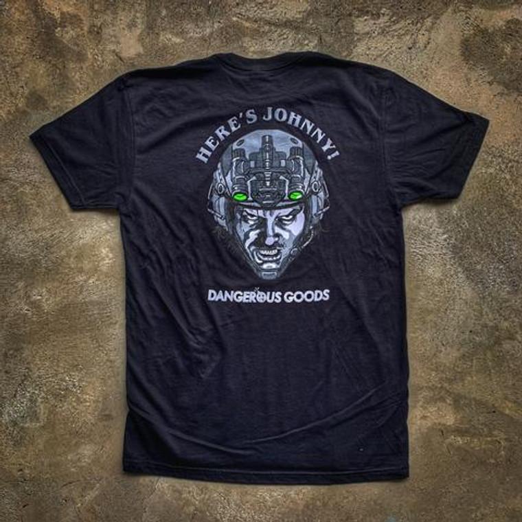 Dump Box Dangerous Goods Here's Johnny Jack Torrance T-Shirt