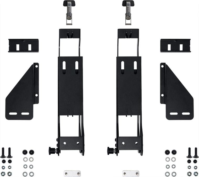 Pelican SDDLMT001C Saddle Case Bed Mount (Ford BoxLink)