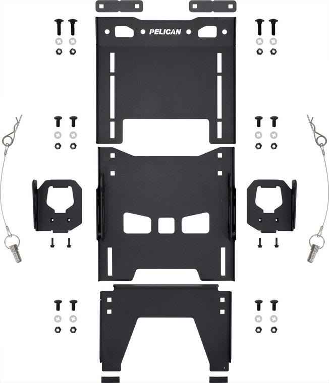 Pelican SIDEMT001B Side Mount (Toyota Deck Rail)