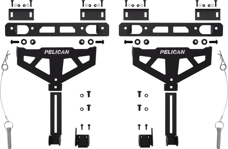 Pelican XBEDMT001A Cross-Bed Mount (Universal)