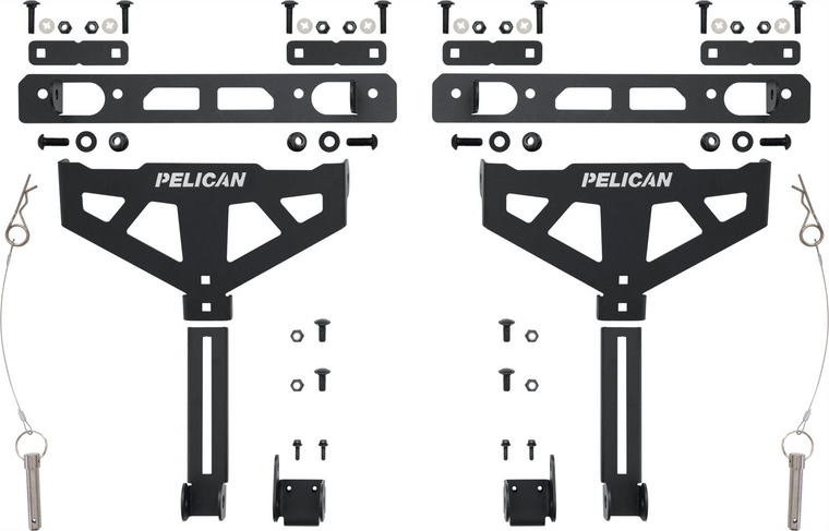 Pelican XBEDMT001B Cross-Bed Mount (Toyota Deck Rail)