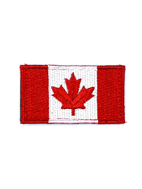 DST Small Canadian Flag Patch