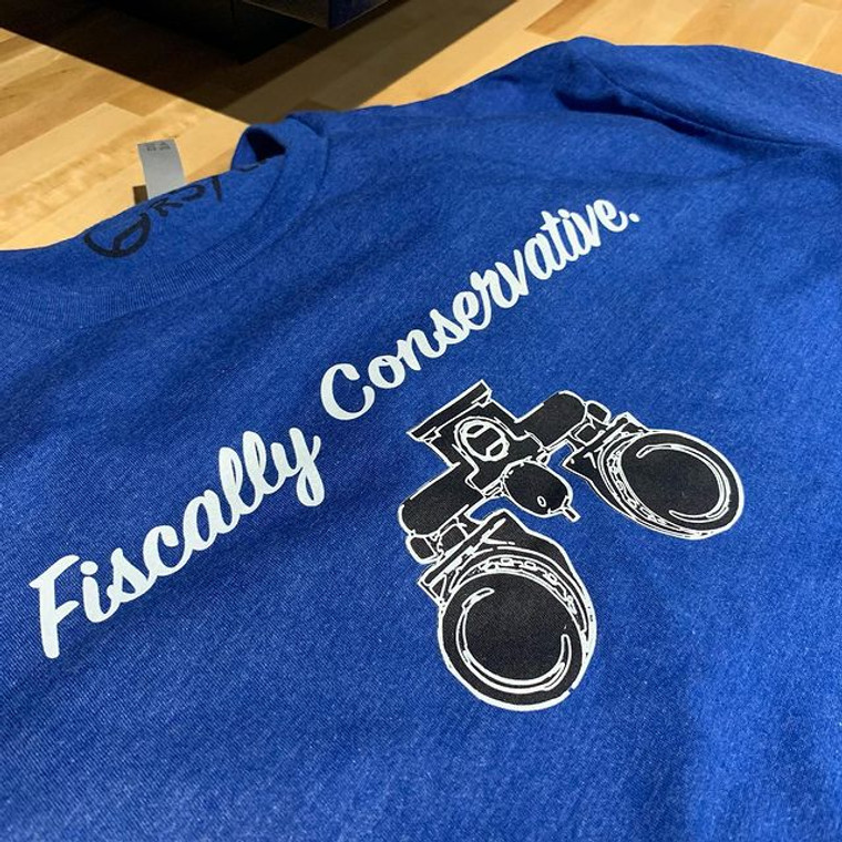RailScales Fiscally Conservative Tee Shirt