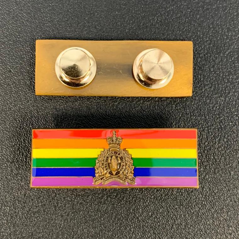Emblazon RCMP Pride Pin