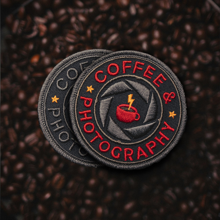 PS Patch Designs Coffee & Photography Patch