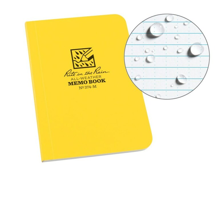 "Rite In The Rain 3.5"" x 5"" Universal Pattern Soft Cover Memo Book"