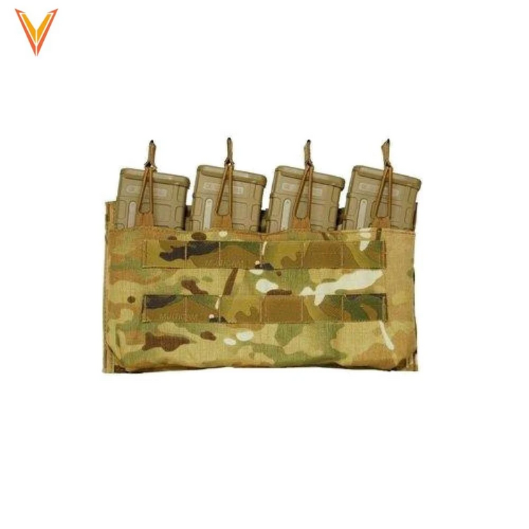 Velocity Systems Quad 5.56 Magazine Pouch, Open Top