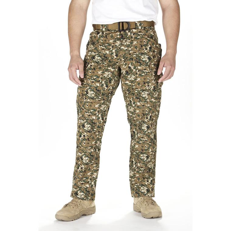 5.11 Tactical TDU Pants Ripstop - Woodland Camo