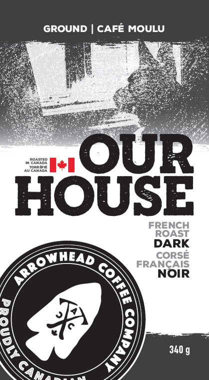 Arrowhead Coffee Company French Roast Dark Coffee - Our House   340g
